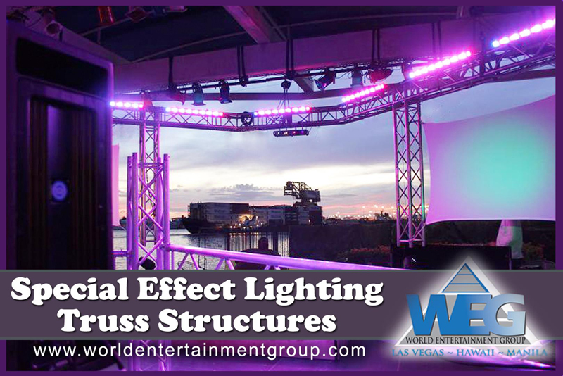 Special Effect Lighting Truss Structures